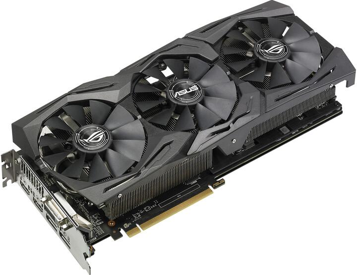 ASUS Radeon ROG-STRIX-RX580-O8G-GAMING, 8GB GDDR5