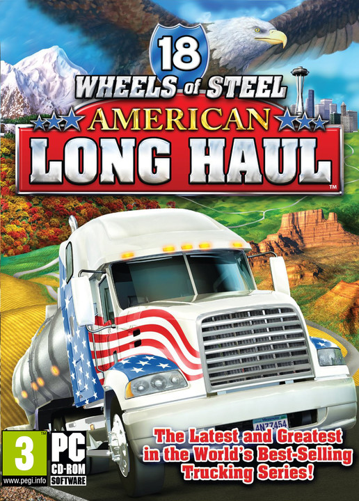 18 Wheels of Steel: American Long Haul - PC