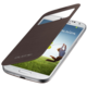 Samsung flipové pouzdro S-view EF-CI950BA pro Galaxy S4, hnědá