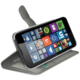 CELLY Wally pouzdro pro Microsoft Lumia 640, PU kůže, bílá