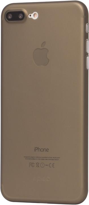 EPICO ultratenký plastový kryt pro iPhone 7 Plus TWIGGY MATT, 0.3mm, šedá