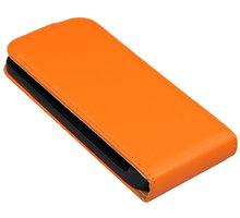 PATONA pouzdro pro Samsung Galaxy S4 mini (I9190), oranžová hladká - PT8098