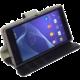 Krusell polohovací pouzdro BORAS FolioWallet pro Sony Xperia Z5 Compact, černá