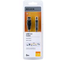 Belkin USB 2.0 kabel A-B, řada standard, 3 m - F3U154cp3M