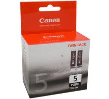 Canon PGI-5Bk, černá, Twin Pack - 0628B030