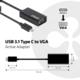 Club3D USB 3.1 TYPE C na VGA (D-SUB), aktivní převodník