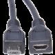 PremiumCord prodlužovací micro USB 2.0, M-F, 2m