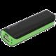 Zdarma Powerbank OMEGA 2200mAh, microUSB, mini, černo/zelená (v ceně 169,-)