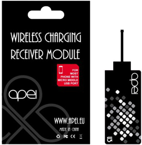 Apei Qi U3 Wireless Charging Receiver Module microUSB univerzální