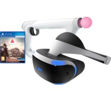 Virtuální brýle PlayStation VR + FarPoint + Aim Controller - PS719844051FP3 + Farpoint - Aim Controller Bundle (PS4 VR)