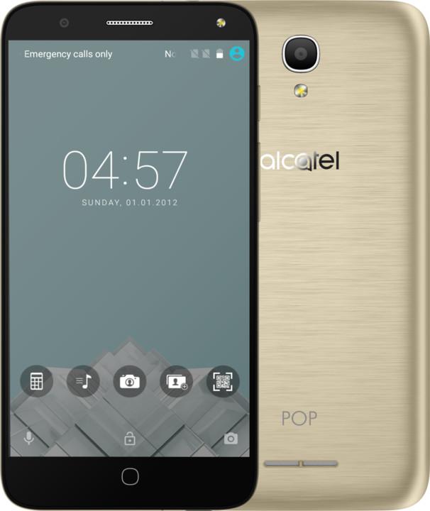 ALCATEL OT-5051D POP 4, zlatá