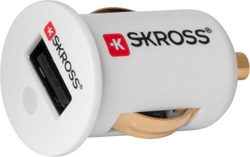 Skross miniaturní USB nabíječka do auta