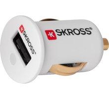 Skross miniaturní USB nabíječka do auta - DC16