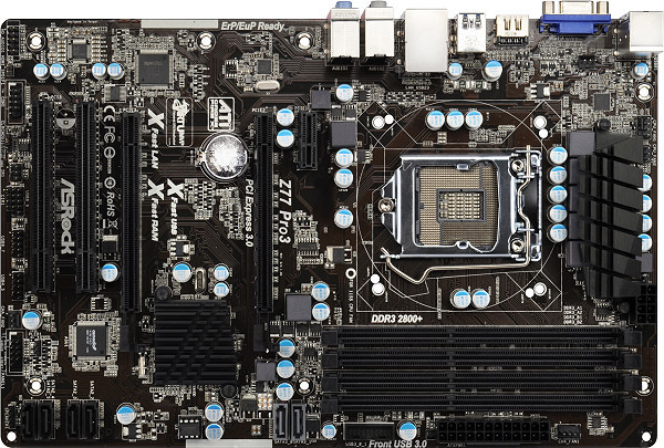 ASRock Z77 Pro3 - Intel Z77