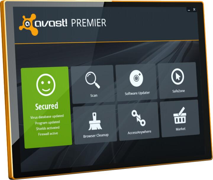 Avast! Premier, 1 uživatel (36 měs.) prodloužení