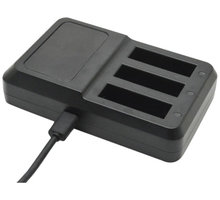 Apei Outdoor USB 3x Battery Charger for GoPro 4 - OD208