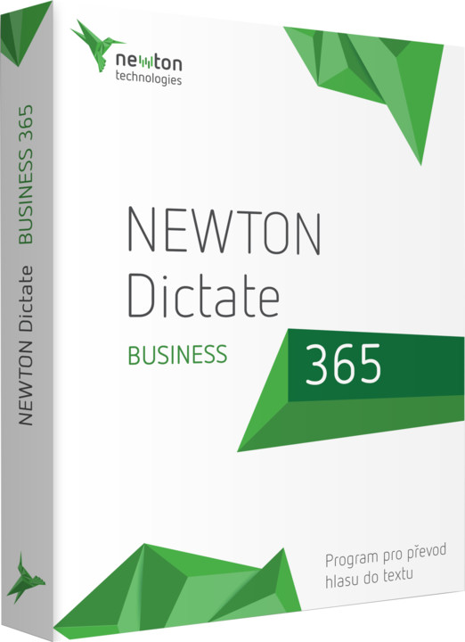 NEWTON Dictate Business 365, elektronická