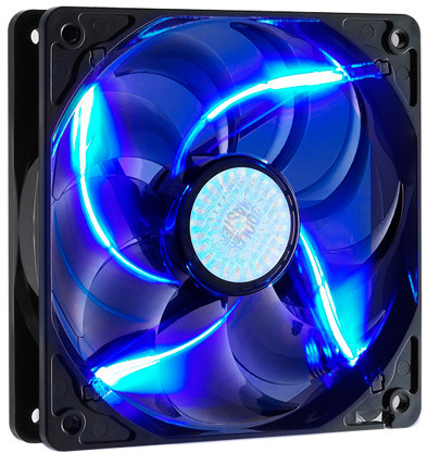 CoolerMaster SickleFlow 120mm, blue LED