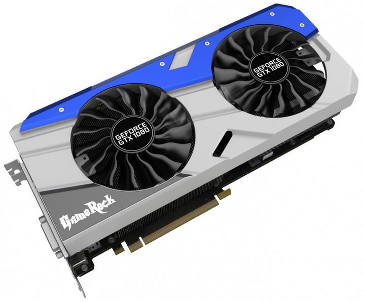 PALiT GeForce GTX 1080 GameRock Premium Edition, 8GB GDDR5X