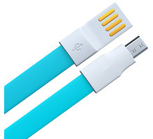 Remax datový kabel USB/micro USB, 1,2m dlouhý, modrá - AA-844