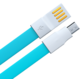 Remax datový kabel USB/micro USB, 1,2m dlouhý, modrá