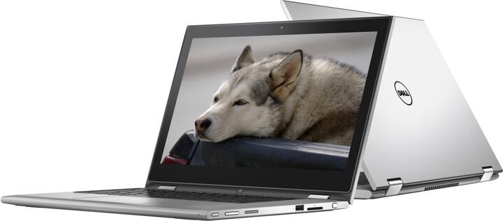Dell Inspiron 13z (7359) Touch, stříbrná