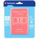 Verbatim Store'n'Go, USB 3.0 - 1TB, růžová
