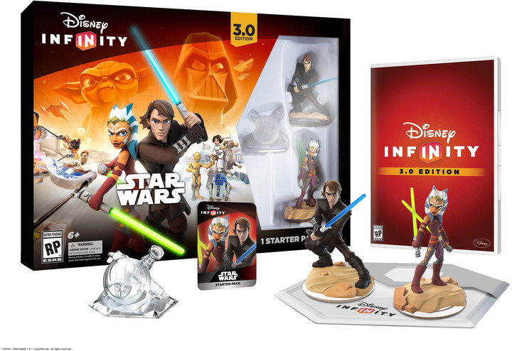 Disney Infinity 3.0: Star Wars: Starter Pack - X360