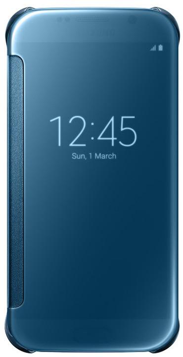 Samsung Clear View EF-ZG920B pouzdro pro Galaxy S6 (G920), modrá