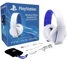 PlayStation - Wireless Stereo Headset 2.0, bílá - PS719856634