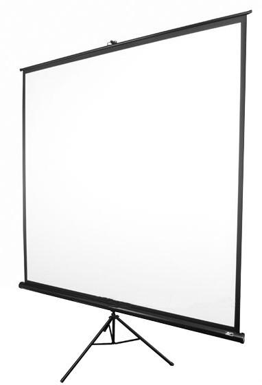 """Elite Screens plátno mobilní trojnožka 99"""" 177,8 x 177,8 cm"""