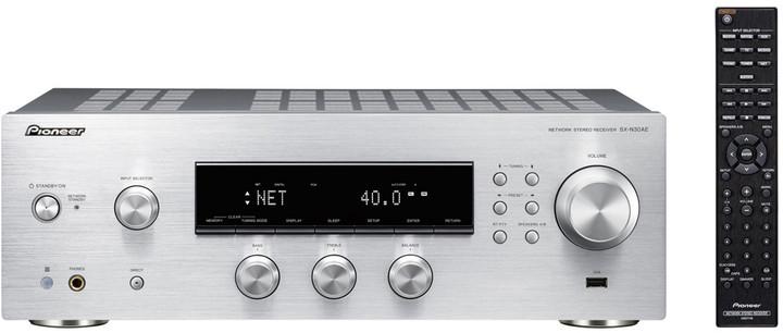 Pioneer SX-N30AE-S, stříbrná