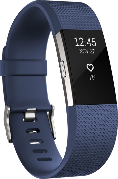 Fitbit Charge 2 Accessory TPU Band S, modrá