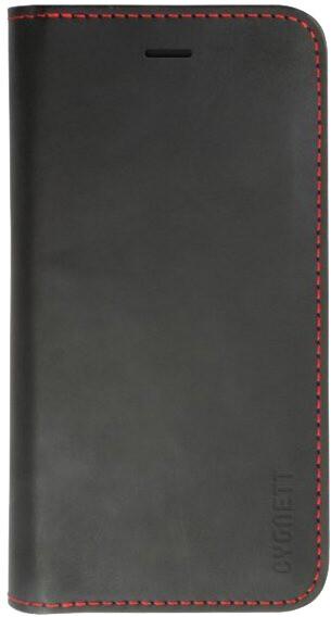 Cygnett Urban Wallet - PU Flip pouzdro pro iPhone 6 - černá