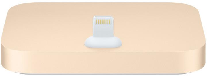 Apple iPhone Lightning Dock, zlatá