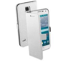CellularLine Book Essential pro Galaxy S5 Mini, bílá - BOOKESSGALS5MINW