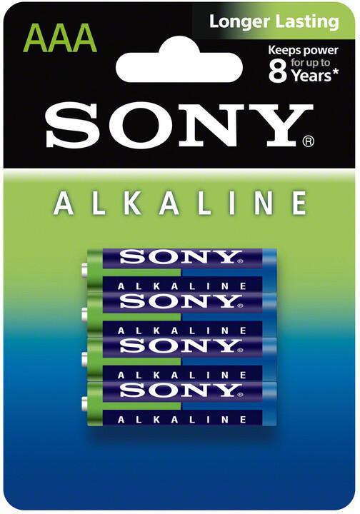 Sony Alkalická baterie LR03, AAA 1.5V X4 ECOPACK