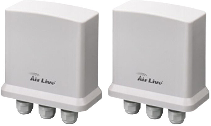 AirLive OD-2000PE, 2x PoE outdoor, 10/100/1000, IP65