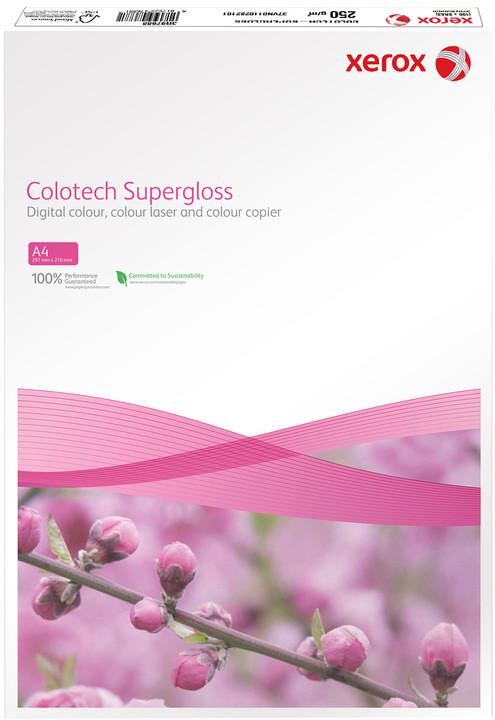 Xerox papír Colotech+ SuperGloss, A4, 100 ks, 250g/m2