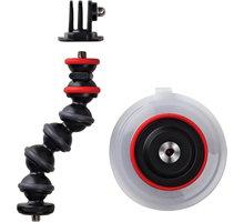 JOBY Suction Cup&GorillaPod Arm, černá/červená - E61PJB01329