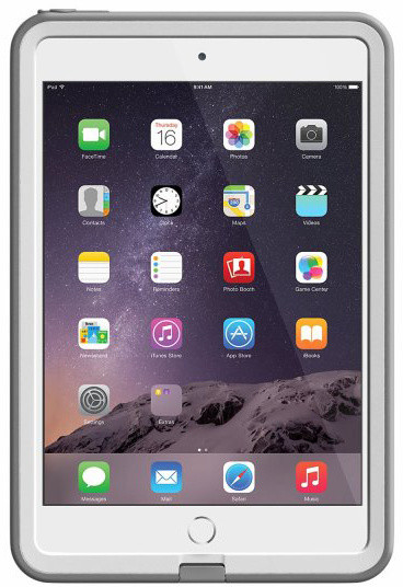LifeProof Fre pouzdro pro iPad mini / mini 2 / mini 3, odolné, bílá