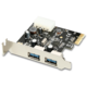 AXAGON PCEU-23R PCI-Express adapter 2x USB3.0 Renesas + LP