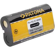 Patona baterie pro Kodak KLIC-8000 1300mAh Li-Ion - PT1116