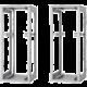 Triton RZA-45-A81-CAX-A1, 45U, 800x1000