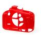 Easy Cover silikonový obal Reflex Silic pro Canon 7D Mark II, červená