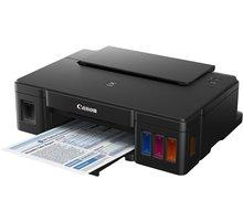 Canon PIXMA G1400, tankový systém, černá - 0629C009 + PRN Canon Foto papír Plus Glossy II PP-201, 13x18 cm, 20 ks, 260g/m2, lesklý v ceně 179,-