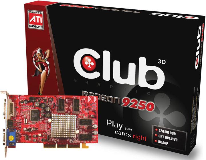 Club3D ATI 9250 128MB(128bit) VIVO