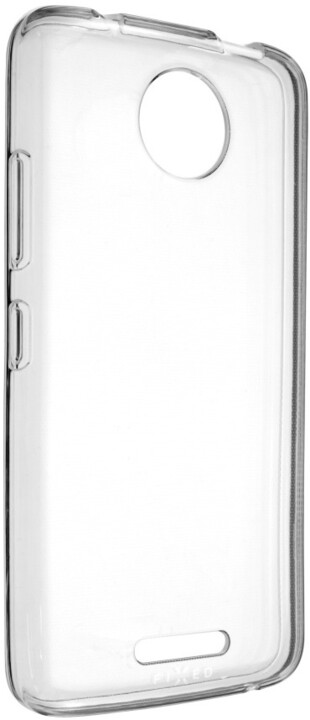 FIXED gelové TPU pouzdro pro Motorola Moto C 4G, bezbarvé