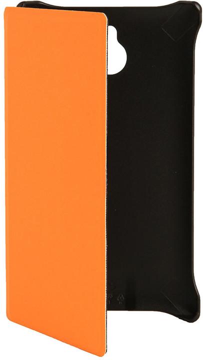 Nokia CP-633 flipové pouzdro pro X2-00, oranžová