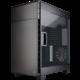 Corsair 600C Carbide Clear, okno, černá